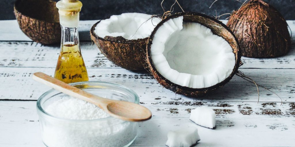cooking coconut oil for hair